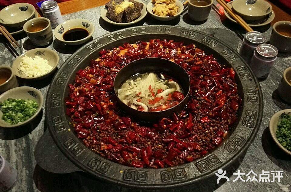 岗上渣渣重庆火锅(琶醍店)-灵芝羊肚菌和图片图片