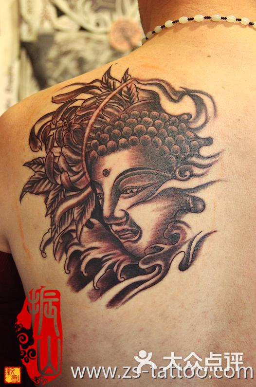 振山刺青工作室(苏州纹身)佛头图片 - 第206张