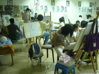 印象画室美术培训