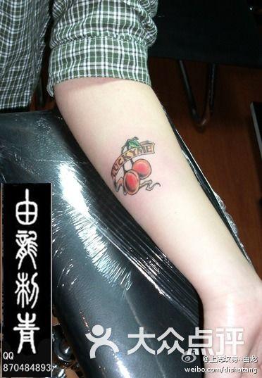 由龙纹身上海纹身由龙作品手腕小纹身图片-北京纹身
