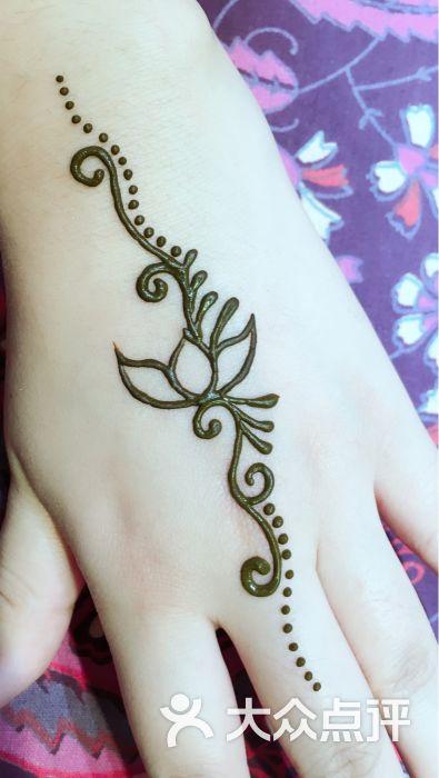 赋美·印度海娜手绘纹身(中贸广场店)图片 - 第5张