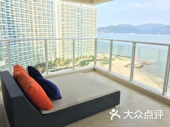 海湾半岛度假公馆-270度海景套房阳台图片-惠东县酒店