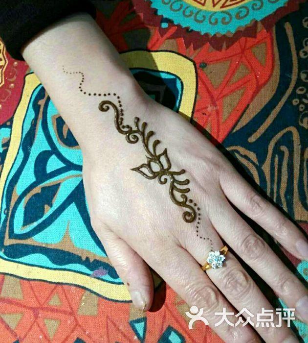 赋美·印度海娜手绘纹身(钟楼骡马市店)图片 - 第4张