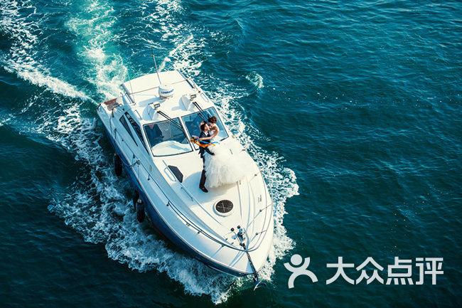 海上游艇-青岛婚纱摄影-青岛伯蒂纳婚纱摄影 (3)图片