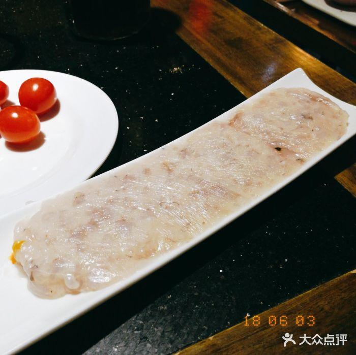 巴川水宽窄巷子火锅手工鲜虾滑图片