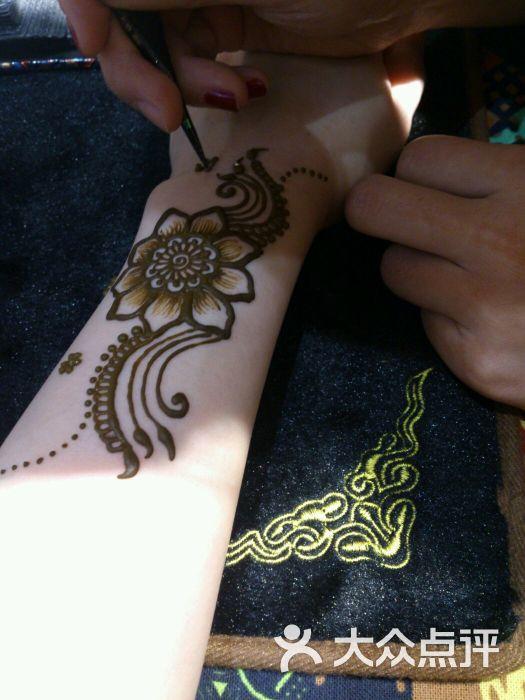赋美·印度海娜手绘纹身(东大街店)图片 - 第72张