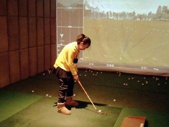 小球大球车间式高尔夫训练基地