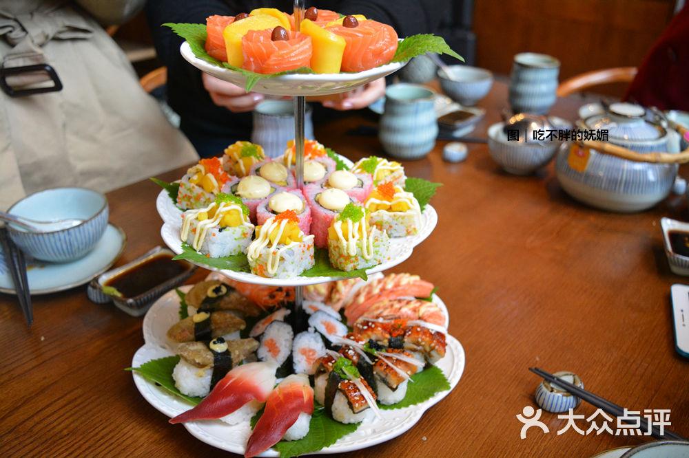 红砖和风料理(中华城店)-创意寿司蛋糕图片-厦门美食