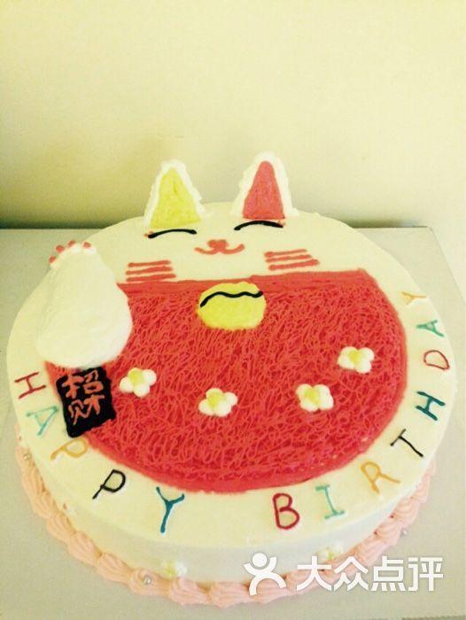 猪头鱼diy蛋糕烘焙-招财猫蛋糕图片-长沙美食-大众