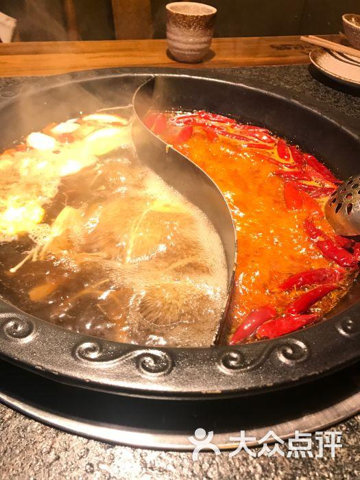 重九老火锅菌汤鸳鸯锅图片 - 第3张
