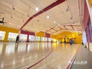 湖人主题篮球馆