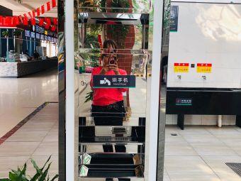 蔡甸服务区停车场