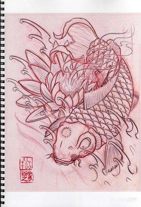龙哥纹身图片 - 第1张
