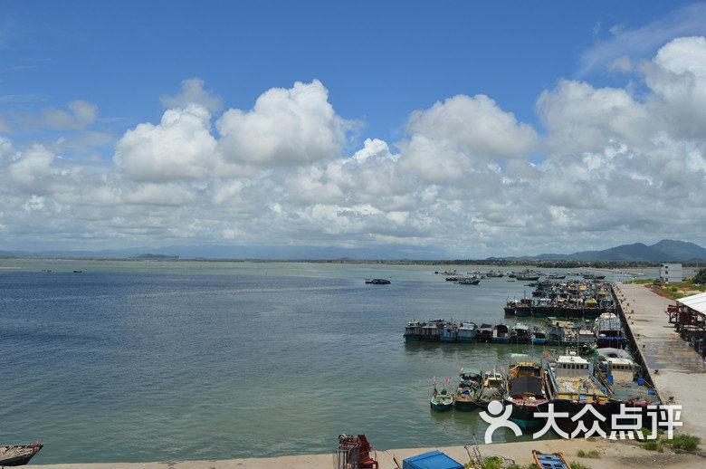 沙扒湾-水产品批发市场即码头图片-阳西县景点-大众