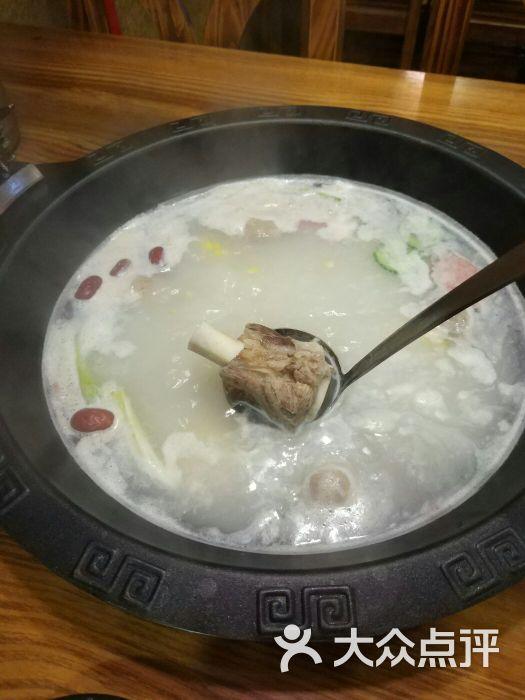 涌上川府火锅秘制筒骨白汤图片 - 第8张