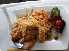 珍宝海鲜坊的麦片虾