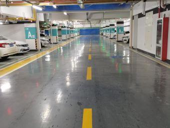 中国建筑科技馆停车场