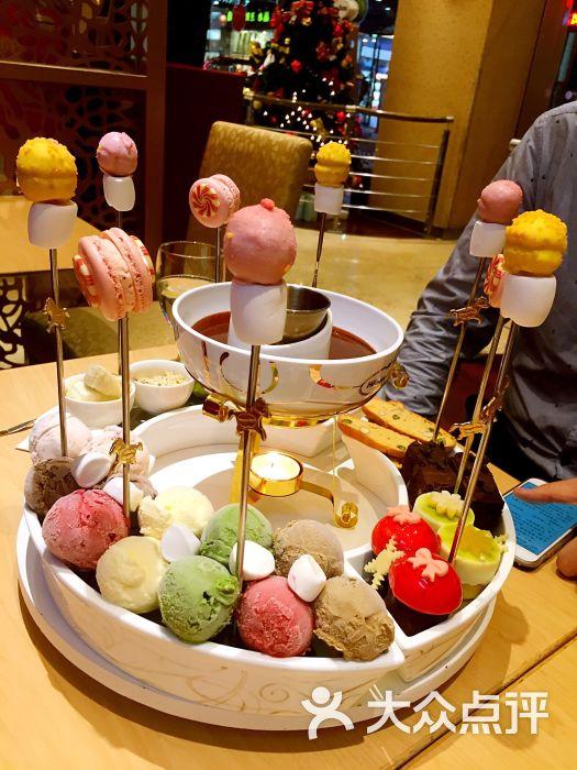焰阿拉斯加风情火锅冰淇淋图片