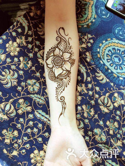 里香漢娜henna tattoo手繪工作室的點評