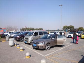 汉中服务区-停车场