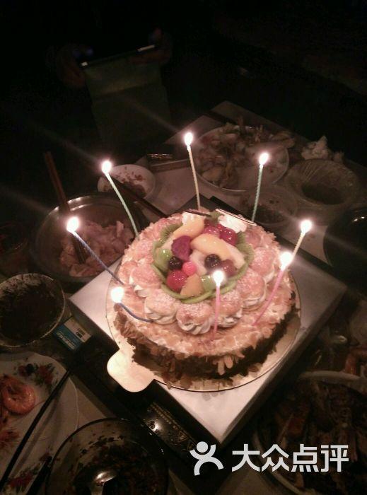 上月老婆生日蛋糕就是吃喜莲娜的图片