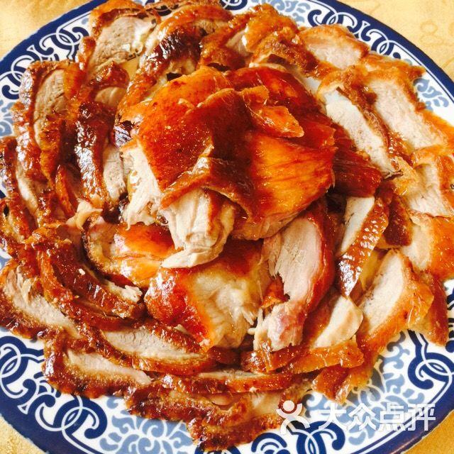 褚记北京烤鸭店(应天大街店)- 北京烤鸭 图片- 南京 美食