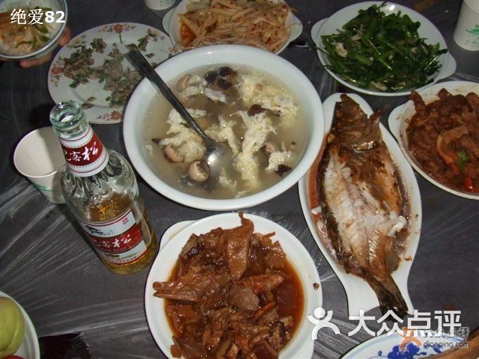 居善堂官邸私厨 一桌的饭菜图片 宏村美食