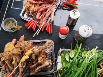梁子湖新華農莊自助燒烤
