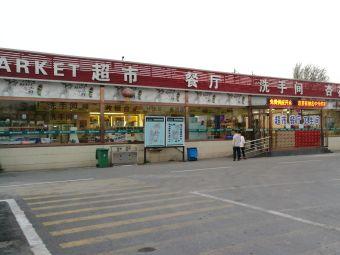 太原北服务区-停车场