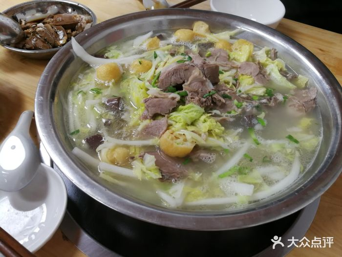 白汤羊肉火锅