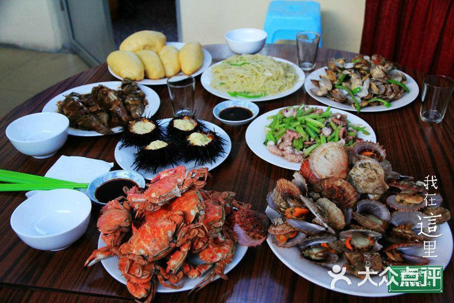 小庞独卫渔家乐-丰盛的小庞渔家海鲜图片-长岛县酒店