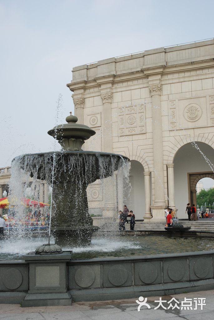 大宁郁金香公园欧式长廊+喷泉图片 - 第3张