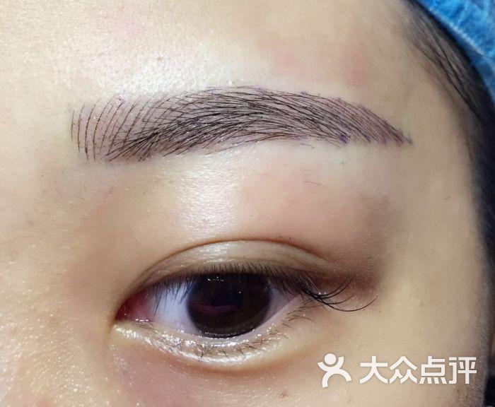 韩式半永久纹绣眉眼唇妆怎么样