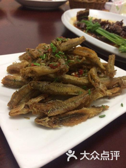 真幸福农庄-椒盐棍子鱼图片-千岛湖美食-大众点评网