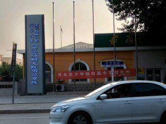 北京城市学院东方大学城分校停车场