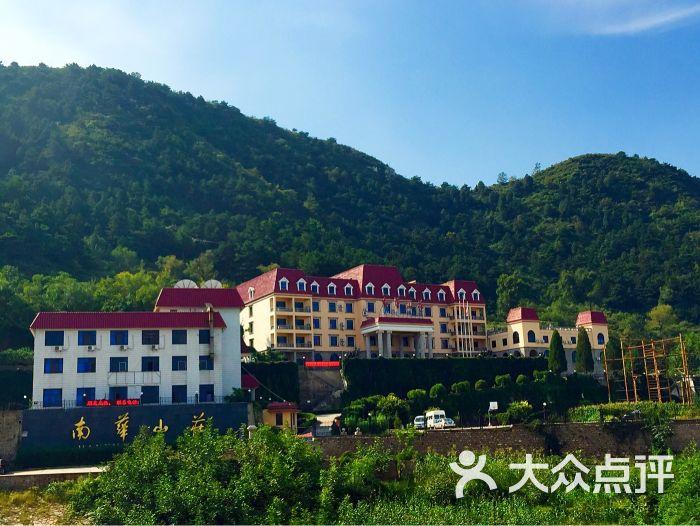 酒店从外观看有点欧式建筑风格