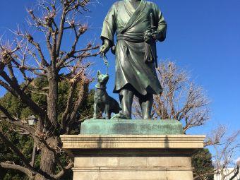 西乡隆盛雕像