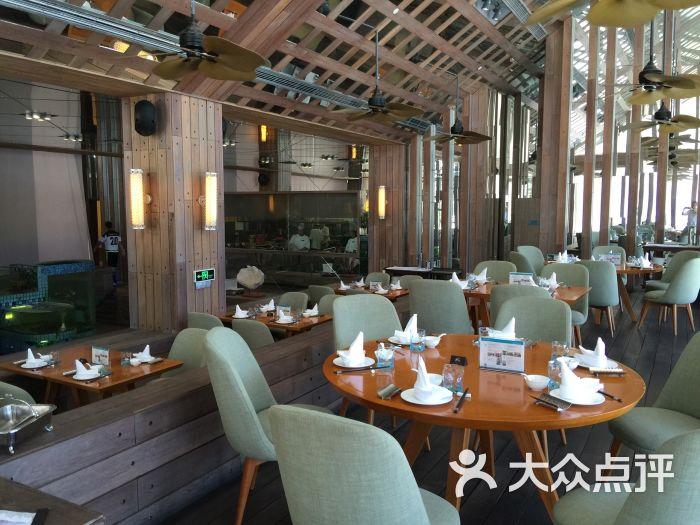 半山半岛洲际酒店海上餐厅图片 - 第6张