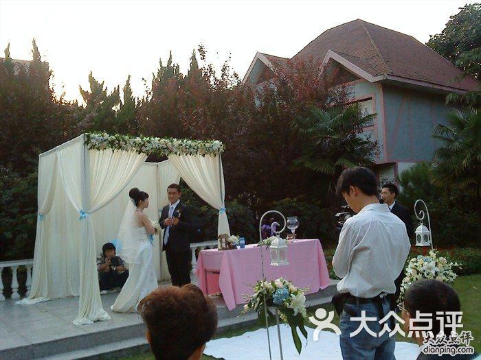 绿谷别墅婚宴-草坪婚礼别墅-上海栽图片后白蜡树图片