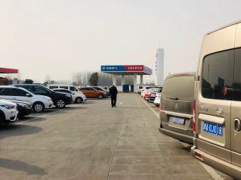 许昌南服务区-停车场