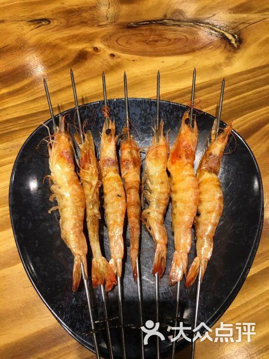 在这儿炊牛(燕儿岛路店)-烤大虾图片-青岛