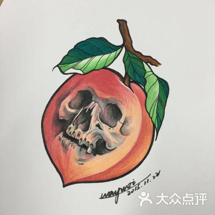 北京东方印记纹身桃子骷髅纹身手稿——北京最好的纹身店图片 - 第63