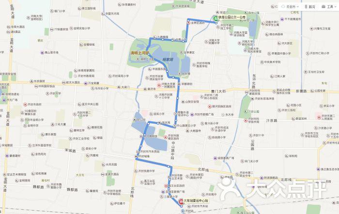 公交车(1路)路线图图片 - 第1张