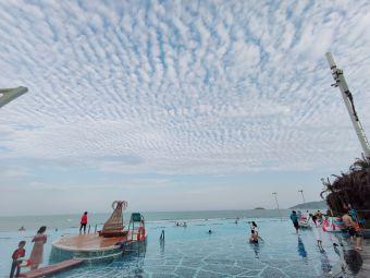 双月湾君庭度假酒店游泳池