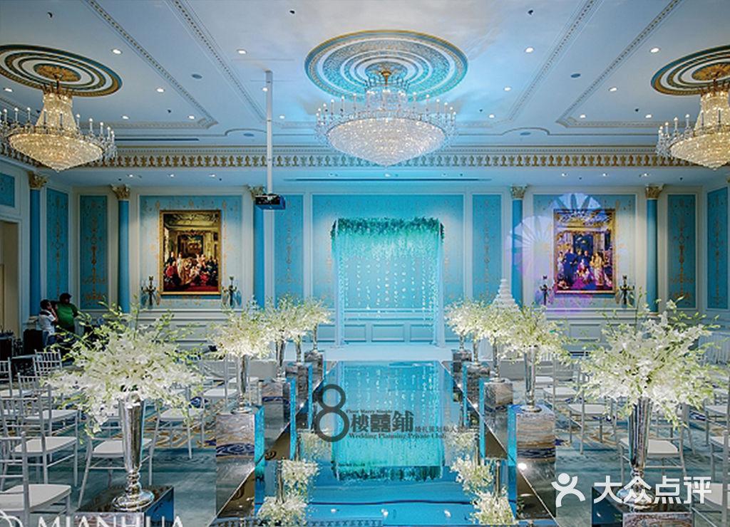唯美干净风格室内纯西式-8楼囍铺婚礼策划私人会所