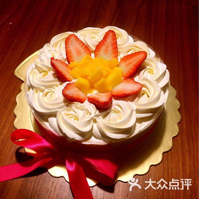 fish私家烘焙-淡奶油水果蛋糕图片-南京美食-大众