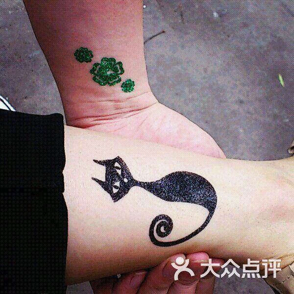 汉刺青纹身工作室han tattoo studio临时性纹身图片 - 第3张图片