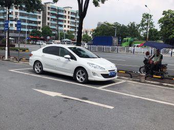 万福城商业广场停车场
