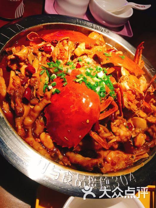 胖哥俩肉蟹煲(巴黎春天店)招牌肉蟹煲图片 - 第3张