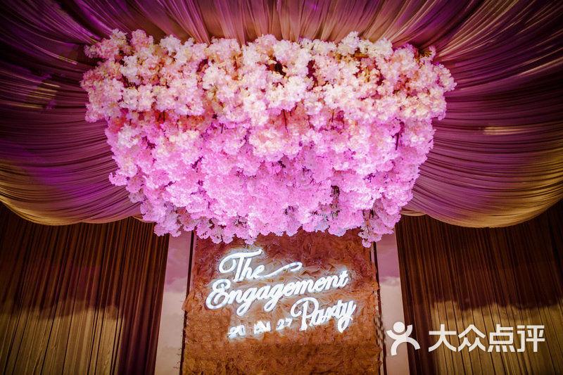 粉红佳人——粉色系欧式宫廷主题婚礼-同喜堂